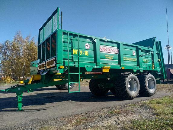 Машина для внесения твердых органических удобрений МТУ-18, фото 2
