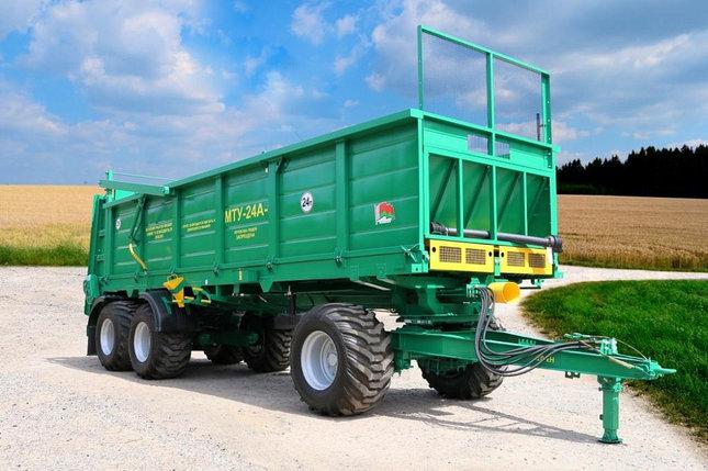 Машина для внесения твердых органических удобрений МТУ-24А-1, фото 2