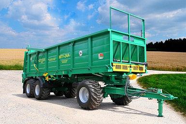 Машина для внесения твердых органических удобрений МТУ-24А-1