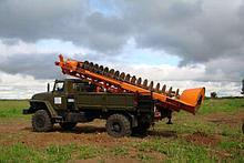 Аренда буровой установки ямобура в Атырау МРК 750