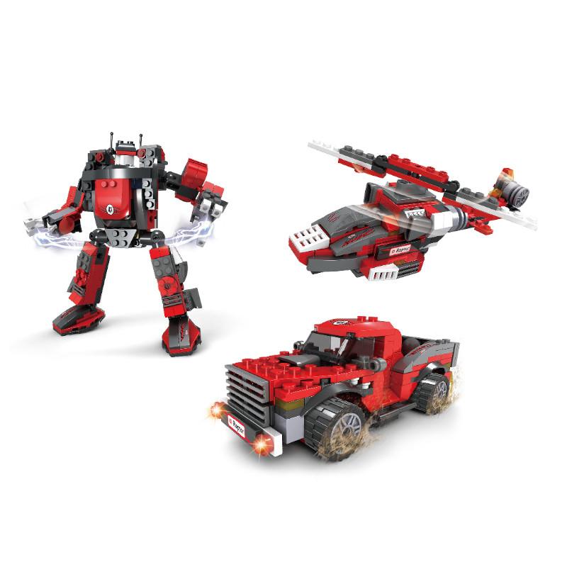 Игровой конструктор Ausini 25620 (Роботы 3в1, 286 деталей)