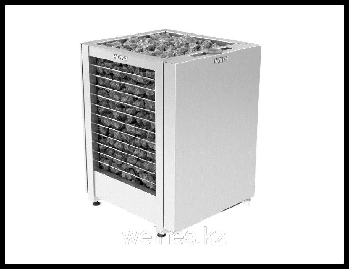 Электрическая печь Harvia Modulo Combi MD160GS Auto Steel (под выносной пульт управления, с парообразователем)