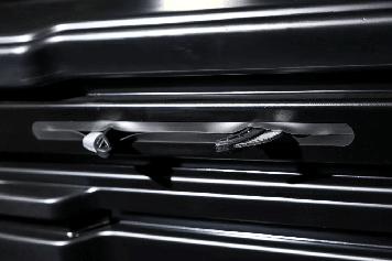 Бокс автомобильный Магнум 350 белый металлик Быстросъём