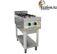 Плита газовая 2-х конфорочная без жар. шкафа ПГ-2-01(415х850х860х(960) мм)