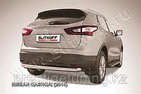 Защита заднего бампера d76 Nissan QASHQAI 2014-18