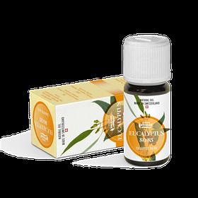 Эфирное масло Эвкалипт сильный антисептическое, противовоспалительное, заживляющее и тонизирующее
