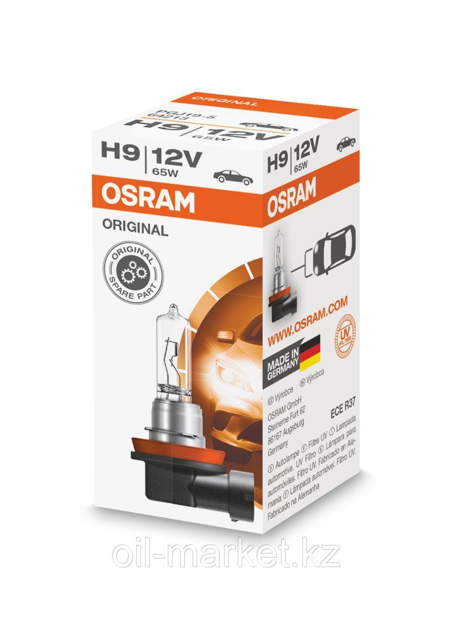 OSRAM Лампа галогенная H9 65W 12V PGJ19-5 ORIGINAL LINE