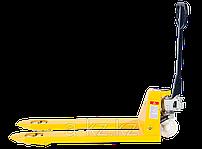 Тележки складские гидравлические длинновильные