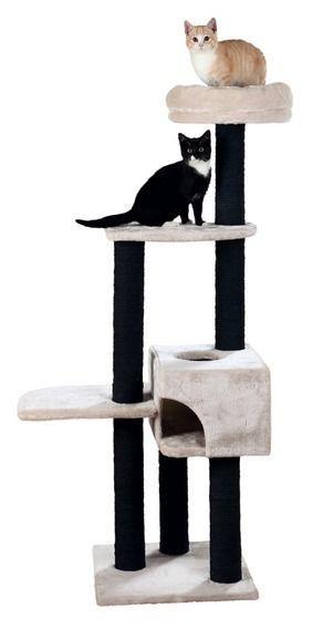 Игровая площадка со съёмным лежаком Trixie Nita (Светло-серый) - 147 см
