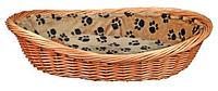 Плетеная корзина с подкладкой Trixie - 70 см