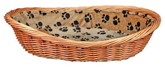 Плетеная корзина с подкладкой Trixie - 80 см