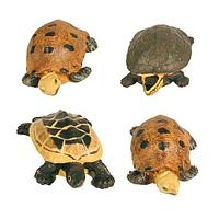 Набор фигурок лягушек и черепах Trixie - 5-8 см