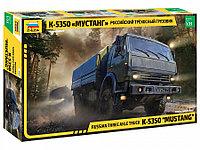 Сборная модель Российский трехосный грузовик К-5350 «Мустанг», фото 1