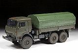 Сборная модель Российский трехосный грузовик К-5350 «Мустанг», фото 5