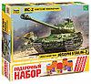 Сборная модель Советский тяжёлый танк ИС-2 подарочное издание