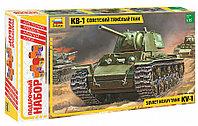 Сборная модель Тяжелый советский танк КВ-1 Подарочное издание, фото 1