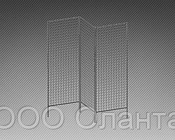 Стенд с сеткой трехсекционный (2000х1800 мм) арт. СТС-3
