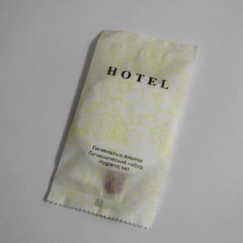 Гигиенический набор с пилочкой Hotel в пакете флоупаке