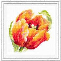 """Набор для вышивания крестом """"Красный тюльпан"""""""
