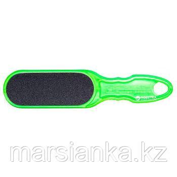 AC 10/1 Терка для педикюра пластиковая Staleks 100/180 (зеленая)
