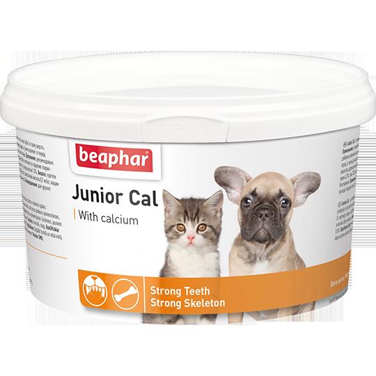 Кормовая добавка Junior Cal для котят и щенков, Beaphar - 200 г
