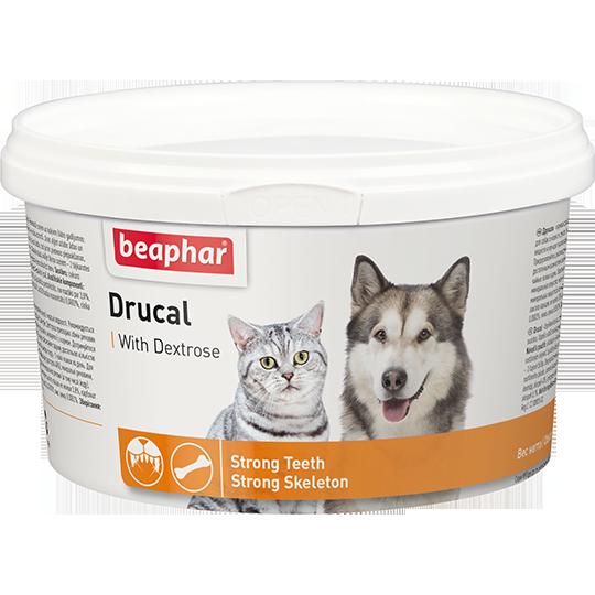 Кормовая добавка Drucal для кошек и собак с ослабленной мускулатурой, Beaphar - 250 г