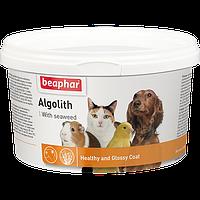 Кормовая добавка Algolith для активизации натурального пигмента животных, Beaphar - 250 г