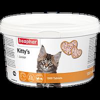 Кормовая добавка Kitty's Junior с биотином для котят, Beaphar - 150 табл.