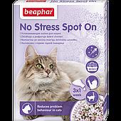Успокаивающие капли No Stress Spot On для кошек, Beaphar - 3 пипетки