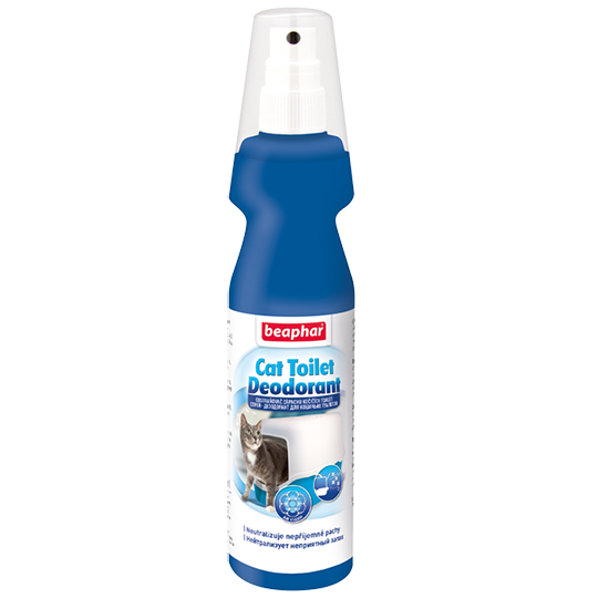 Спрей-дезодорант Cat Toilet Deodorant для кошачьих туалетов, Beaphar - 150 мл