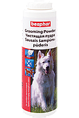 Чистящая пудра Grooming Powder для сухой чистки шерсти собак от запаха и грязи, Beaphar - 150 г