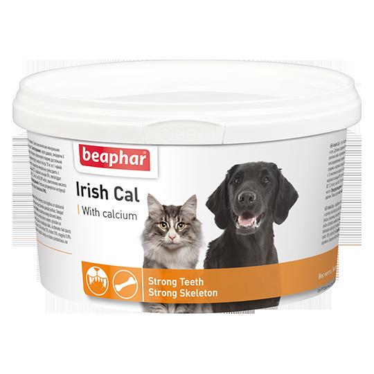 Кормовая добавка Beaphar Irish Cal для кошек и собак - 250 г