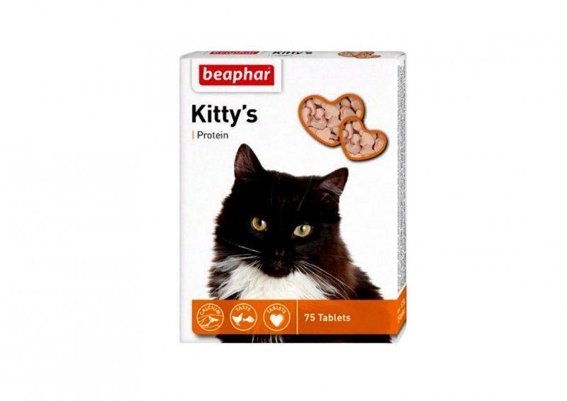 Витамины Beaphar Kittys Protein для кошек - 75 т