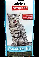 Лакомство Beaphar Cat-A-Dent Bits для кошек, для чистки зубов - 35 г