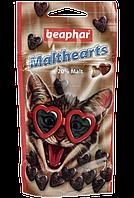 Лакомство Beaphar Malthearts для кошек, для выведения шерсти из желудка - 150 т
