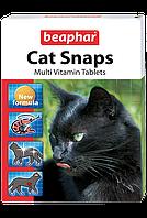 Кормовая добавка Beaphar Cat Snaps для кошек (Креветки) - 75 т