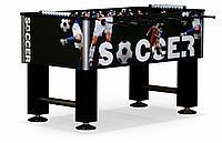 Настольный футбол (кикер) «Roma IV» (140x76x87 см, черный), фото 1