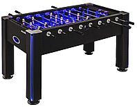Настольный футбол (кикер) «Azure» (148x78x87 см, черный), фото 1