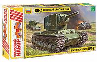 Сборная модель Советский тяжелый танк КВ-2, Подарочное издание, 1:35, фото 1