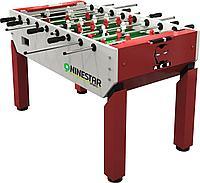 Игровой стол - футбол «Nine Star Iron Men» (151 x 82 x 42 см, красный), фото 1