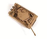 """Сборная модель Немецкий тяжелый танк Т-VI """"Тигр"""", подарочное издание, 1:35, фото 9"""