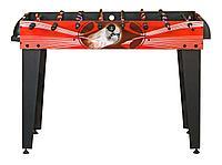 Настольный футбол (кикер) «Flex» (122x61x78.7 см, красный), фото 1