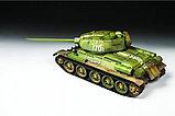 Сборная модель Советский средний танк Т-34/85, подарочное издание, фото 2