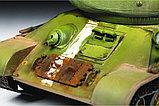 Сборная модель Советский средний танк Т-34/85, подарочное издание, фото 7