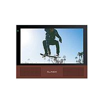 """Slinex Sonik-7 цвет черный. 7"""" AHD Домофон с сенсорным экраном, стерео динамиками и сменными панелям"""