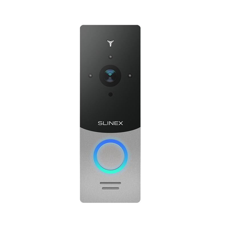 Slinex ML-20HD цвет серебро + черный. Вызывная панель высокого разрешения 2,0 Мп (AHD) / 960 ТВЛ