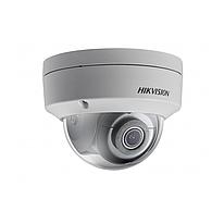 Hikvision DS-2CD2123G0-I (4 мм)+ DS-1275ZJ-SUS IP видеокамера 2 МП купольная + кронштейн