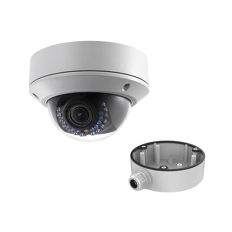 Hikvision DS-2CD2742FWD-I (2.8-12 мм) + DS-1280ZJ-DM21 (видеокамера + распред.коробка)