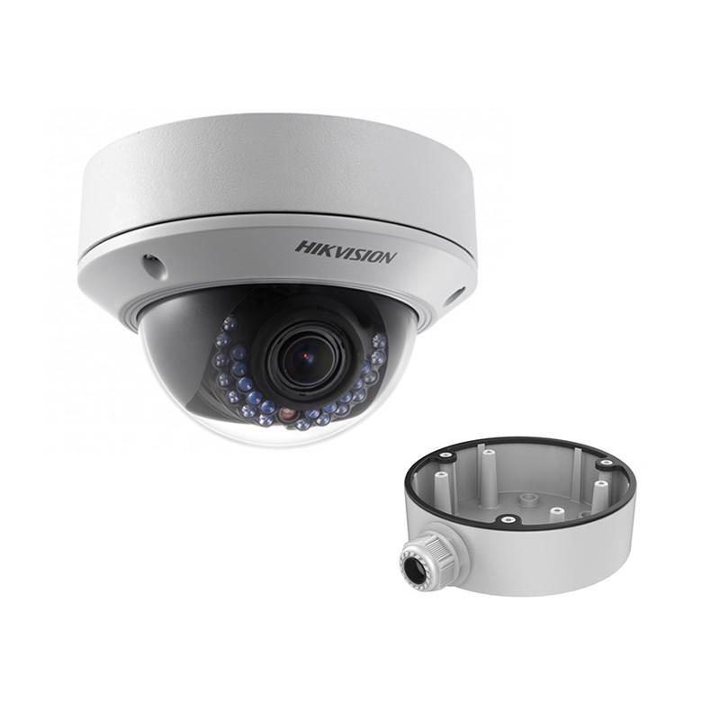 Hikvision DS-2CD2722FWD-IZS (2.8-12 мм) + DS-1280ZJ-DM21 (видеокамера + распред.коробка)