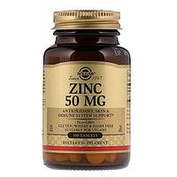 БАД Цинк хелатный 50 мг solgar (100 таблеток)